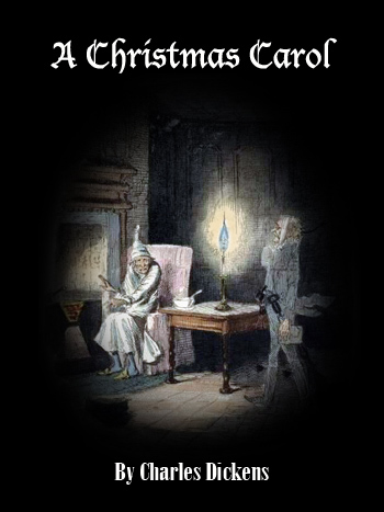 cybercrayon cover for the classic story a christmas carol by charles dickens illustration by - A Christmas Carol Full Text